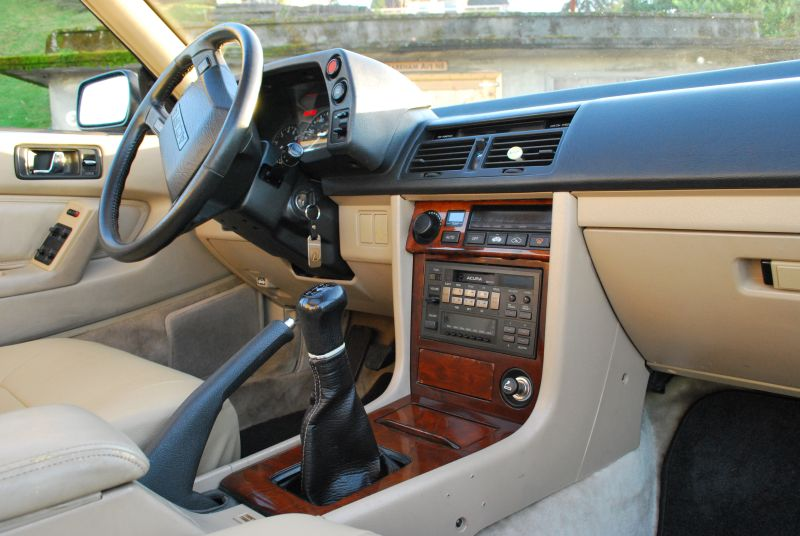 Garage Vehicle on Red Integra Interior